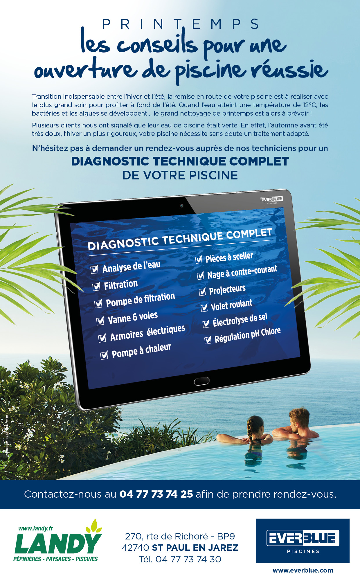 News printemps piscine 2018