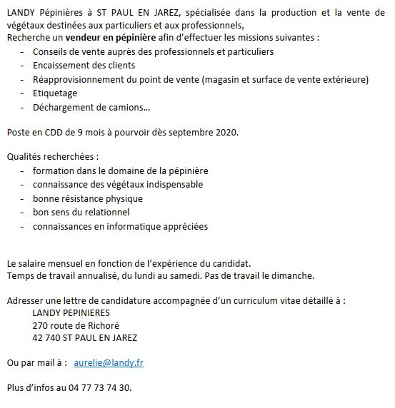 OFFRE EMPLOI PEP